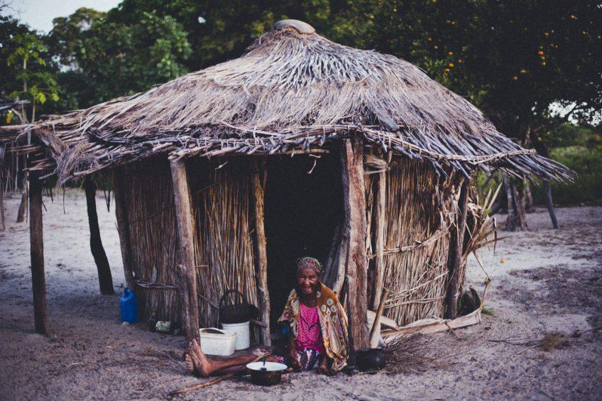 ホームスティ モザンビーク田舎の生活