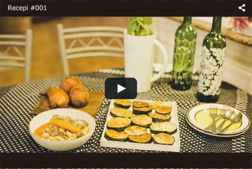 アフリカ・モザンビーク料理のレシピ動画#01 完成。