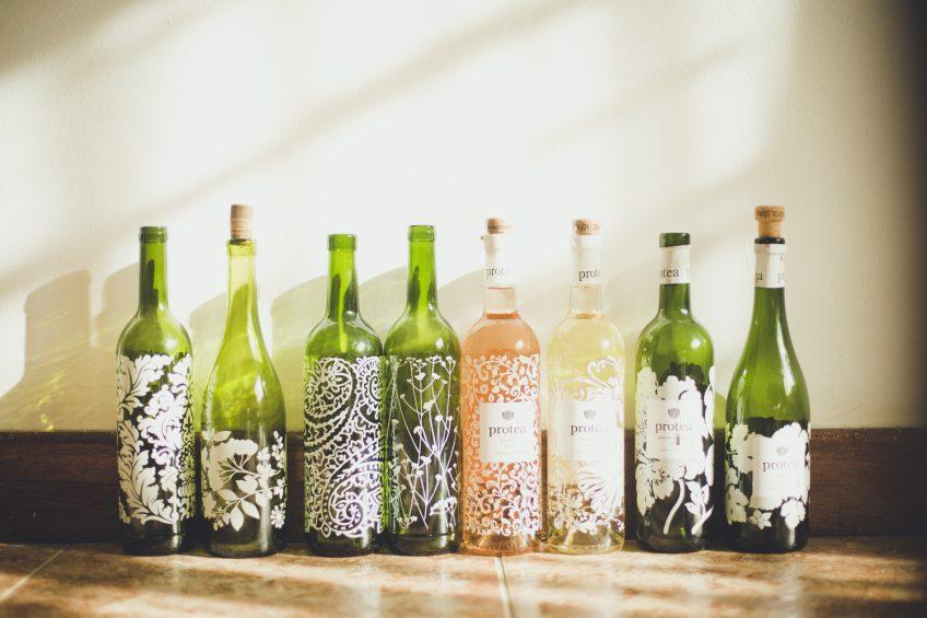 可愛いすぎるよリユースボトル Protea 南アフリカ産ワイン