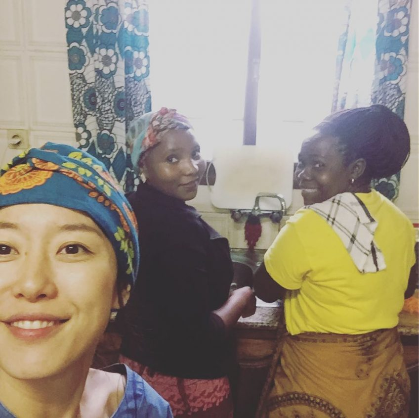 アフリカ日本食教室