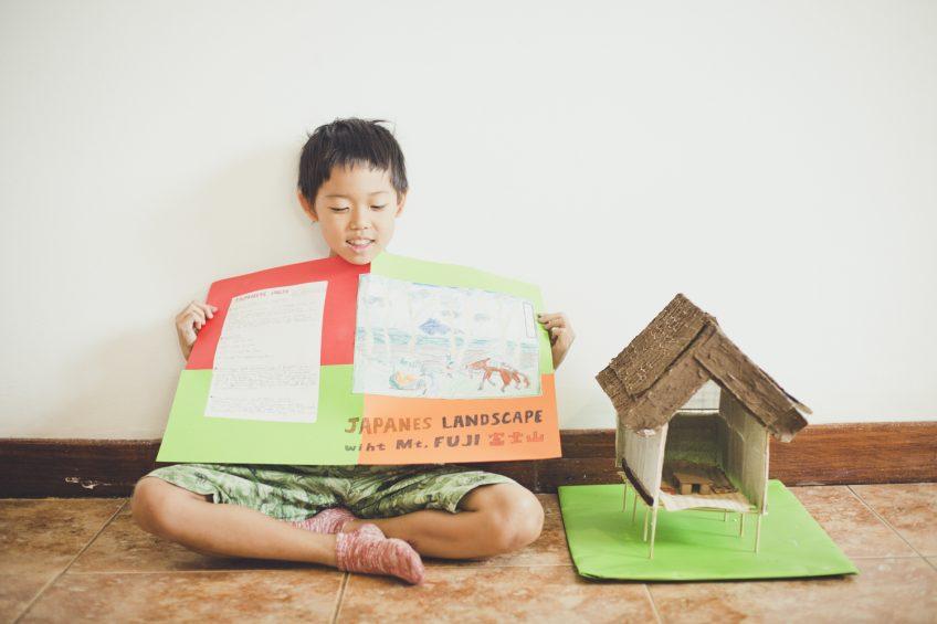 Japanese House インター校の研究課題 日本家屋