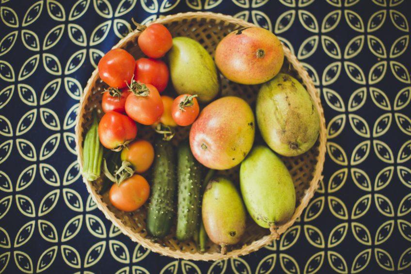 モザンビーク家庭菜園 収穫物