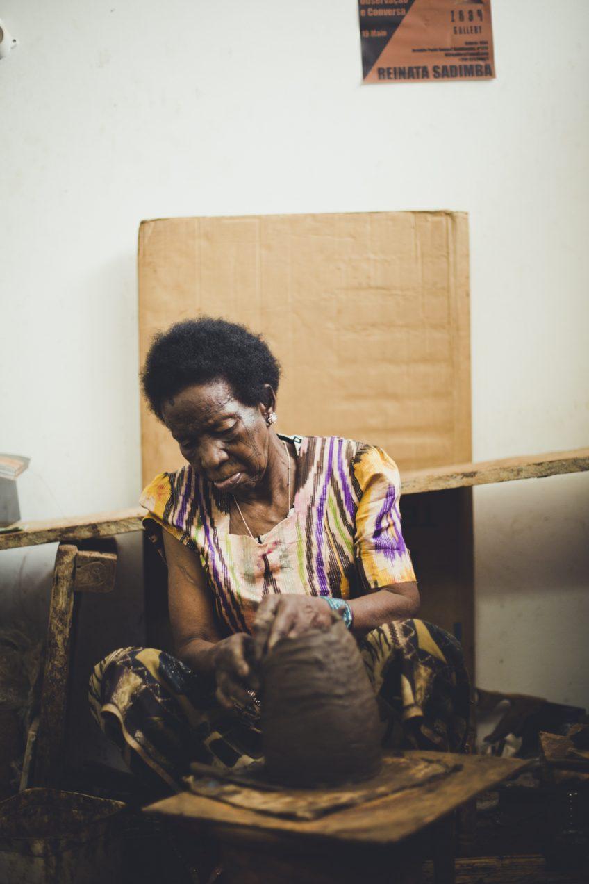 おばあちゃんの作品 アフリカ土器