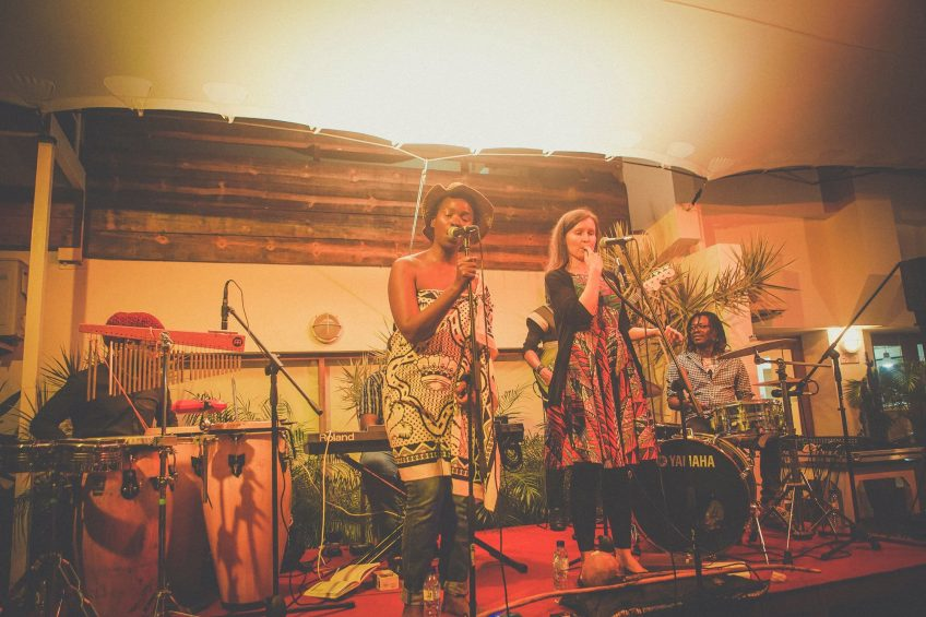 Music beyond the border, Collaboration of Mozambique and Swaziland